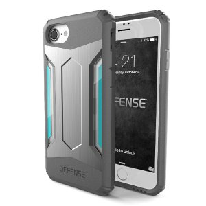 X-Doria DEFENSE GEAR Silver for iPhone8/7|jpt-teds