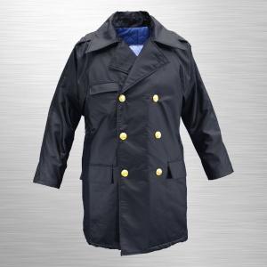 #7000KA 制服型防寒ハーフコート(合皮製) jpu-shop