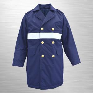 #7600_M 制服型防寒ハーフコート(ナイロン製) jpu-shop