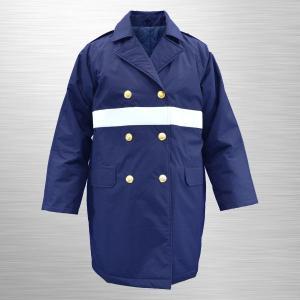 #7600_W 制服型防寒ハーフコート(ナイロン製) jpu-shop