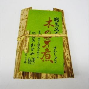 京都鞍馬産 京のおばんざい木の芽煮 高級品鞍馬のテングも〜マツコさんも牛若丸もびっくりです|jr-gurume