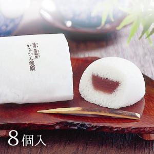 薩摩銘菓かるかんに国内産の小豆あんが入ったおまんじゅうです。 山芋をふんだんに使用し、伝統の味と匠の...