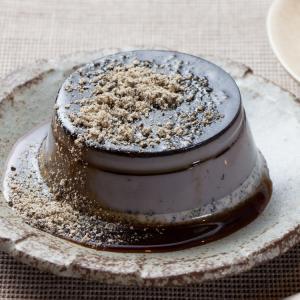 九州 ギフト 2019 フカツコーヒー 黒ごま三景プリン 6個セット 北九州名物 冷凍|jrk-shoji