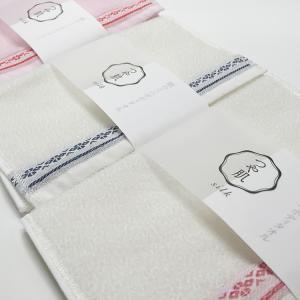九州 ギフト 2019 森博多織  博多献上柄 つや肌 ミニボディタオル シルク  絹100%  日本製  常温|jrk-shoji
