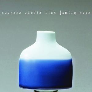 九州 お土産 西海陶器 ファミリーベース ブルー K   42243  花瓶  essence studio line family vase 波佐見焼  はさみ焼き  常温|jrk-shoji