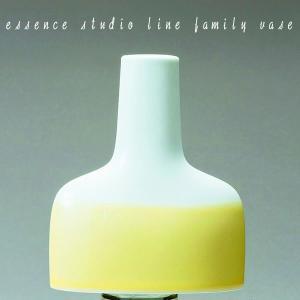 九州 お土産 西海陶器 ファミリーベースイエロー M  42242  花瓶  常温|jrk-shoji
