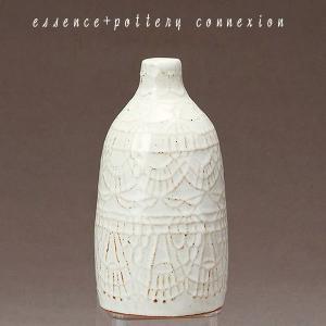 九州 お土産 西海陶器 ドイリ― vase-S  46267  花瓶  essence + pottery connexion 波佐見焼  はさみ焼き  常温|jrk-shoji