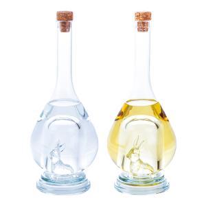 【八鹿酒造】干支ボトル 2017酉 2本セット清酒・焼酎(各500ml)(化粧箱入)酉ボトル