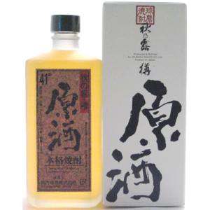 常楽酒造 米焼酎 秋の露・樽(原酒)(41度/720ml)(熊本県)