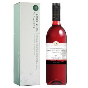 九州 ギフト 2019 都農ワイン マスカットベリーA 750ml  化粧箱入  宮崎産 国産ワイン 常温|jrk-shoji