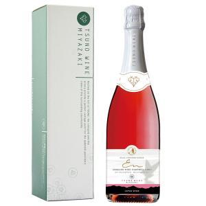 九州 ギフト 2019 都農ワイン スパークリングワイン キャンベルアーリー 750ml  化粧箱入  国産ワイン 宮崎 常温|jrk-shoji