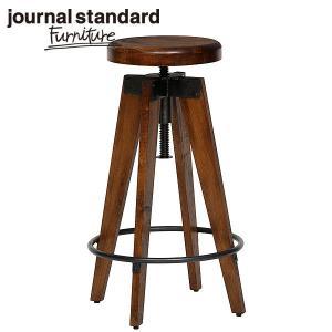 journal standard Furniture ジャーナルスタンダードファニチャー CHINON HIGH STOOL シノン ハイスツール ウッドシート 座面昇降 B00IFS8P8S|js-f