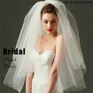 ショートタイプ・メッシュチュールウェディングベール・結婚式・ヘアアクセサリー・ヘッドドレス・ブライダル【161214】【JSファッション】 js-fashion