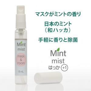 エタノール約60%(除菌) ミントミスト ハッカ油+1【マスク & ルーム】アロマスプレー日本製自社製造品|js-stage