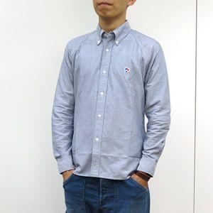 アルボーマレー/Arvor Maree オックスフォードボタンダウンシャツ OXFORD BUTTON-DOWN L/S SHIRT jscompany-store