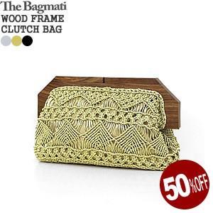 バグマティ/The Bagmati ウッドフレームクラッチバッグ 木製 エスニック パーティ WOOD FRAME CLUTCH BAG LC-6460M|jscompany-store