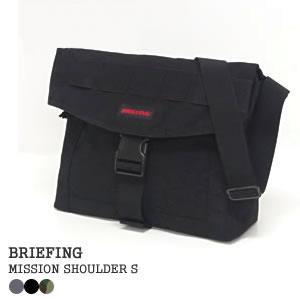 ブリーフィング/BRIEFING ミッションショルダーS ショルダーバッグ MISSION SHOULDER S BRF-313219|jscompany-store