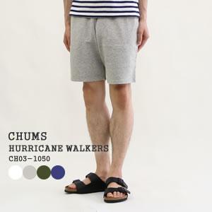 チャムス/CHUMS ハリケーンウォーカース スウェットショーツ ショートパンツ イージーパンツ HURRICANE WALKERS CH03-1050 メンズ レディース|jscompany-store