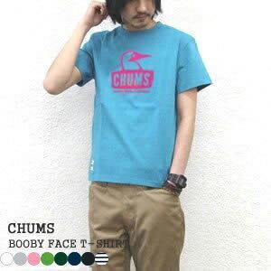 チャムス/CHUMS ブービーフェイスTシャツ 半袖Tシャツ BOOBY FACE T-SHIRT CH01-1243 メンズ レディース【1点のみメール便可能】|jscompany-store