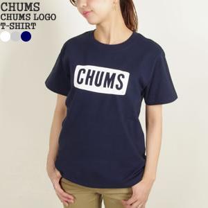 チャムス /CHUMS チャムスロゴTシャツ 半袖Tシャツ CHUMS LOGO T-SHIRT CH11-1242 レディース【1点のみメール便可能】|jscompany-store