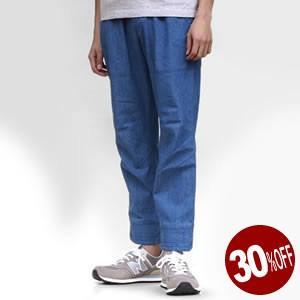 20%OFF ハナレイ/HANALEI リブパンツ 綿麻アンクルパンツ イージーパンツ RIB PANTS 832946/833211 ローズバッド/ROSE BUD メンズ|jscompany-store