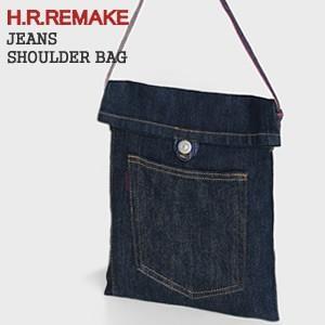 HRリメイク/H.R.REMAKE ジーンズショルダーバッグ サコッシュ 700065539 ハリウッドランチマーケット/HOLLYWOOD RANCH MARKET【メール便可能】|jscompany-store