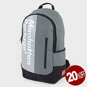 【限定モデル】マンハッタンポーテージ/Manhattan Portage ロゴオンリフレクターイントレピッドバックパック リュック ザック デイパック jscompany-store