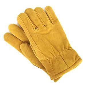ミッドウエスト/MIDWEST QUALITY GLOVES スエードカウハイドグローブ(裏地サーモライト) レザーグローブ 手袋 450TL[メール便不可]|jscompany-store
