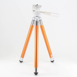 Fotopro 三脚 FY-583 8段 小型 2WAY雲台 アルミ製 オレンジ 79586|jsh