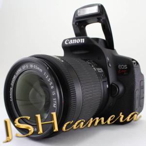 【中古】Canon デジタル一眼レフカメラ EOS Kiss X7i レンズキット EF-S18-55mm F3.5-5.6 IS STM付属 KISSX7I-1855ISSTMLK|jsh