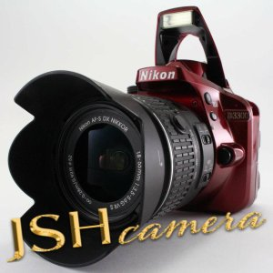 Nikon デジタル一眼レフカメラ D3300 18-55 VR IIレンズキット レッド D3300LKRD jsh
