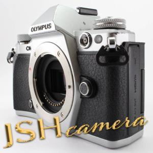OLYMPUS ミラーレス一眼カメラ OM-D E-M5 MarkII ボディー シルバー E-M5 MarkIIBody SLV|jsh