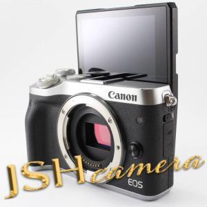 【中古】Canon ミラーレス一眼カメラ EOS M6 ボディー(シルバー) EOSM6SL-BODY jsh