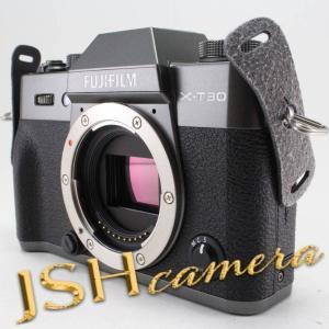 FUJIFILM ミラーレス一眼カメラ X-T30ボディ チャコールシルバー X-T30-CS|jsh