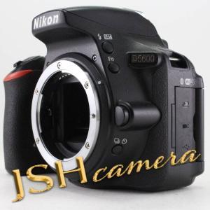 Nikon デジタル一眼レフカメラ D5600 ボディー ブラック D5600BK jsh