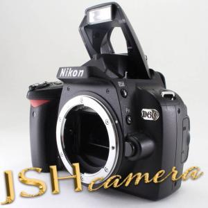 【中古】Nikon デジタル一眼レフカメラ D60 ボディ|jsh