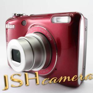 【中古】Nikon デジタルカメラ COOLPIX (クールピクス) L26 レッド L26RD|jsh