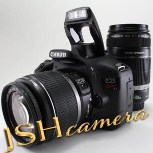 【中古】Canon デジタル一眼レフカメラ EOS Kiss X4 ダブルズームキット KISSX4-WKIT|jsh