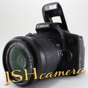 Canon デジタル一眼レフカメラ EOS Kiss X8i レンズキット EF-S18-55mm F3.5-5.6 IS STM 付属 KISSX8I-1855ISSTMLK jsh
