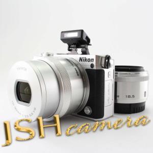 Nikon ミラーレス一眼 Nikon1 J5 ダブルレンズキット シルバー J5WLKSL|jsh