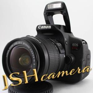 【中古】Canon デジタル一眼レフカメラ EOS Kiss X6i EF-S18-55 IS II レンズキット KISSX6i-1855IS2LK…|jsh