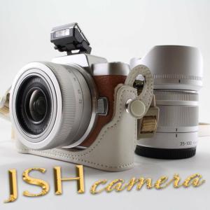 パナソニック ミラーレス一眼カメラ DMC-GF7ダブルズームレンズキット 標準ズームレンズ/望遠ズ...