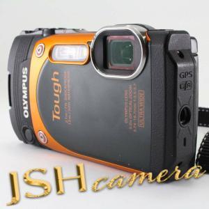 【中古】OLYMPUS デジタルカメラ STYLUS TG-860 Tough オレンジ 防水性能15m 可動式液晶モニター TG-860 ORG|jsh