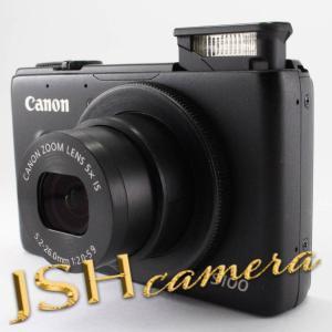 【中古】Canon デジタルカメラ PowerShot S100 ブラック PSS100(BK) 1210万画素 広角24mm 光学5倍ズーム|jsh