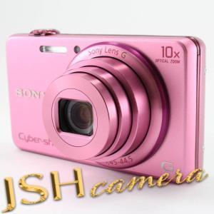 【中古】SONY デジタルカメラ Cyber-shot WX200 1890万画素 光学10倍 ピンク DSC-WX200-P|jsh