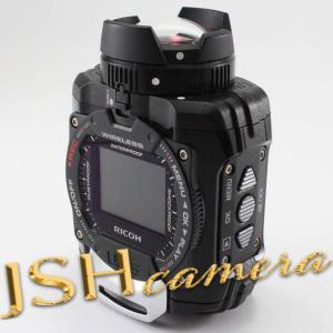 【中古】RICOH 防水アクションカメラ WG-M1 ブラック WG-M1 BK 08271|jsh
