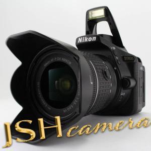 【中古】Nikon デジタル一眼レフカメラ D5600 AF-P 18-55 VR レンズキット ブラック D5600LKBK|jsh