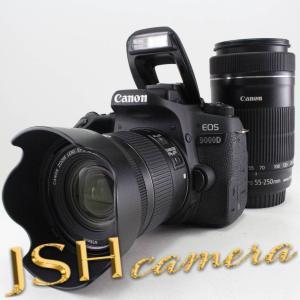 Canon デジタル一眼レフカメラ EOS 9000D ダブルズームキット EF-S18-55mm/EF-S55-250mm 付属 EOS9000D-WKIT jsh
