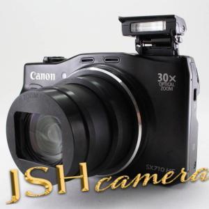 【中古】Canon デジタルカメラ PowerShot SX710 HS ブラック 光学30倍ズーム PSSX710HS(BK)|jsh