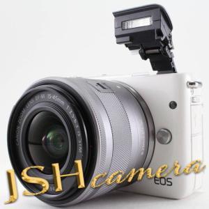 Canon ミラーレス一眼カメラ EOS M10 レンズキット(ホワイト) EF-M15-45mm F3.5-6.3 IS STM 付属 EOSM10WH-1545ISSTMLK|jsh